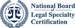 NBLSC Member: National Board of Legal Specialty Certified